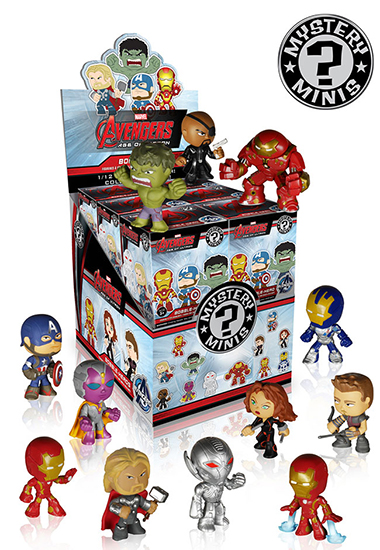 2015 Funko Avengers Age of Ultron Mystery Minis Case 550H