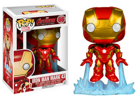 2015 Funko Pop Marvel Avengers Age of Ultron 66 Iron Man Mark 43