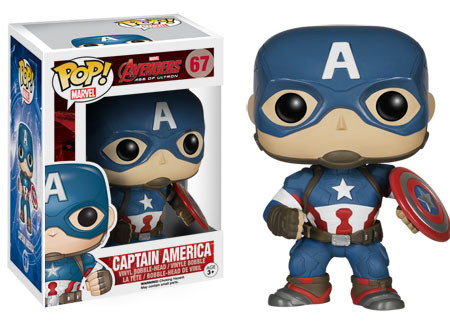 2015 Funko Pop Marvel Avengers Age of Ultron 67 Captain America