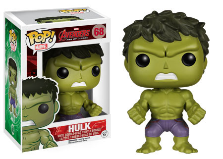 2015 Funko Pop Marvel Avengers Age of Ultron 68 Hulk