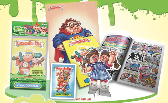 2015 IDW Garbage Pail Kids Micro Comic Fun Packs 1