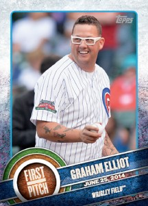 2015 Topps Baseball First Pitch Gallery and Checklist 10