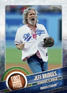 2015 Topps First Pitch Jeff Bridges