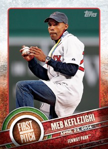 2015 Topps Baseball First Pitch Gallery and Checklist 15