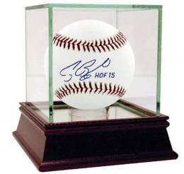2015 Baseball Hall of Fame Inscribed Autographed Memorabilia Available Now 7