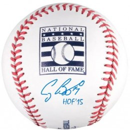 Craig Biggio Inscribed HOF Ball