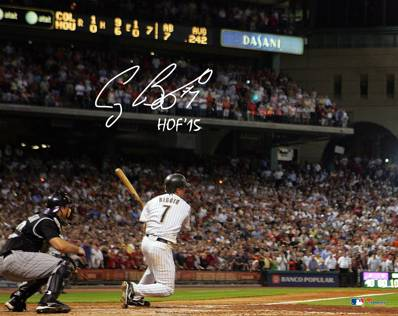 Craig Biggio Signed Photo HOF