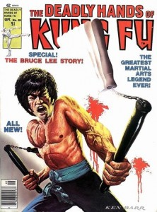 Deadly Hands of Kung Fu Comic #28 Bruce Lee