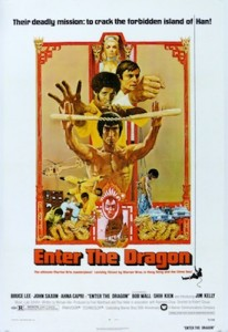 Enter the Dragon Movie Poster Bruce Lee
