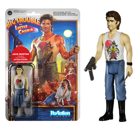 Funko Big Trouble in Little China Reaction Figure Jack Burton