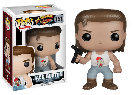 Funko Pop Big Trouble in Little China 151 Jack Burton