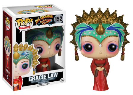 Funko Pop Big Trouble in Little China 152 Gracie Law