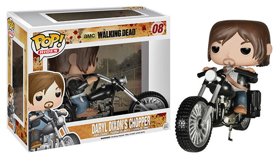 Funko Pop Rides 08 Walking Dead Daryl Dixons Chopper