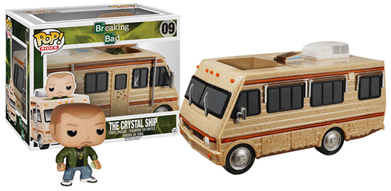 Funko Pop Rides 09 Breaking Bad The Crystal Ship