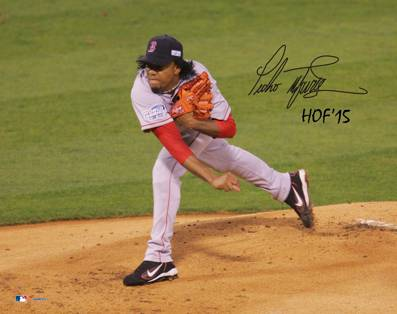 PEdro Martinez Signed Photo HOF