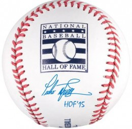 Pedro Martinez Inscribed HOF Ball