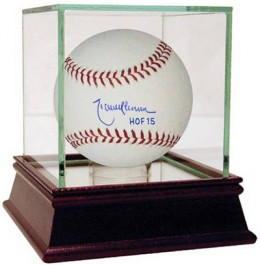 2015 Baseball Hall of Fame Inscribed Autographed Memorabilia Available Now 1