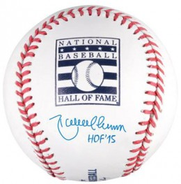 2015 Baseball Hall of Fame Inscribed Autographed Memorabilia Available Now 3