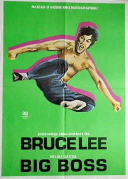 The Big Boss Movie Poster Bruce Lee