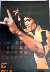 The Game of Death Movie Poster Bruce Lee