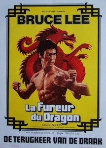 Way Return of the Dragon Movie Poster Bruce Lee
