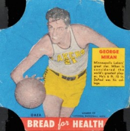 1950 Bread for Health George Mikan