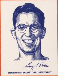 Top 15 George Mikan Basketball Cards 9