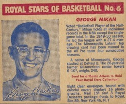 By George! The Top 15 George Mikan Basketball Cards of All-Time 13