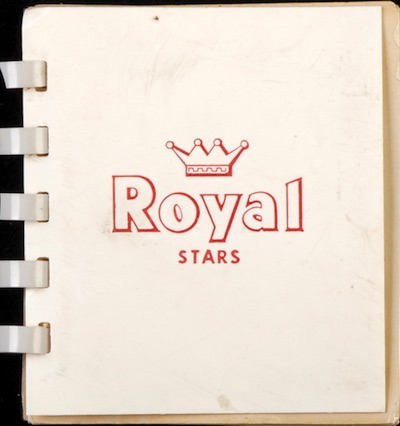 1952 Royal Desserts Stars Album