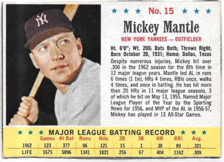 Comprehensive Guide to 1960s Mickey Mantle Cards 87