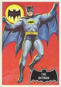 History of Batman Trading Cards 1