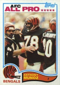 1982 Topps Anthony Munoz RC #51