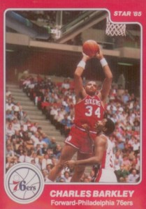 1984-85 Star Charles Barkley #202