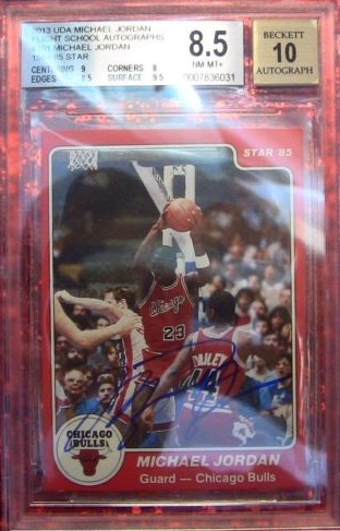 Top Michael Jordan Card and Memorabilia Sales of 2014-15 9