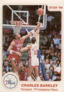 1985-86 Star Charles Barkley #2