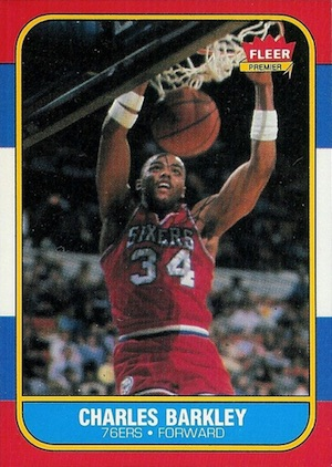 1986-87 Fleer Basketball Cards 6