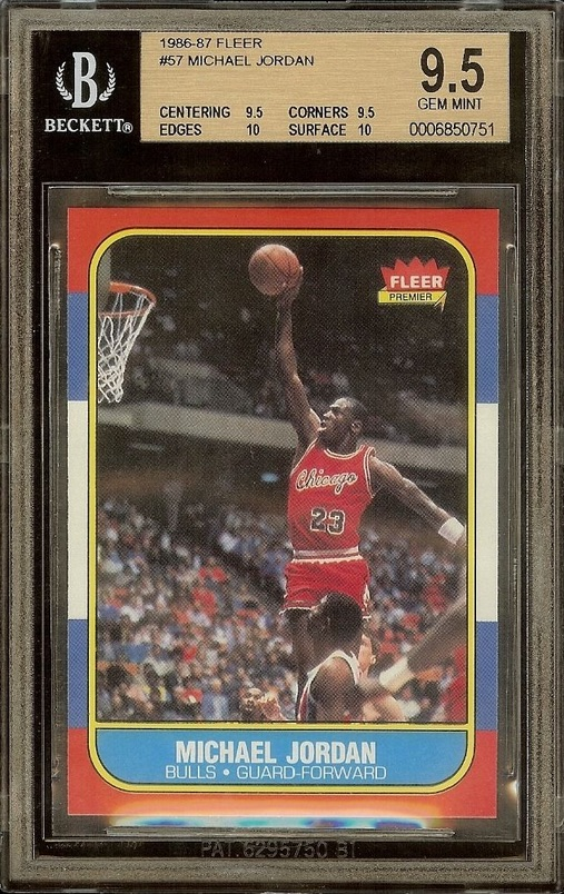 Top Michael Jordan Card and Memorabilia Sales of 2014-15 6