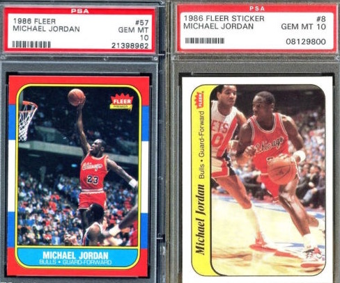 Top Michael Jordan Card and Memorabilia Sales of 2014-15 10