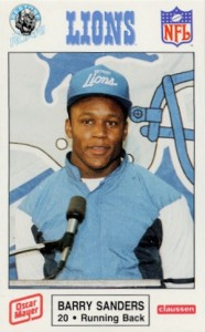 Top Barry Sanders Cards of All-Time 1