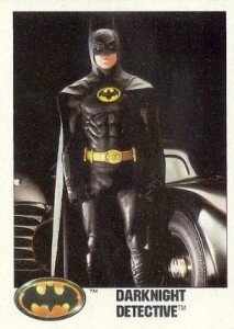 History of Batman Trading Cards 25