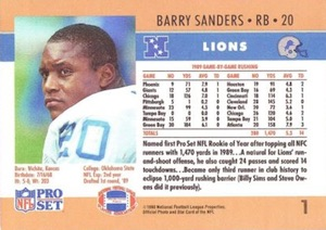 Top Barry Sanders Cards of All-Time 6