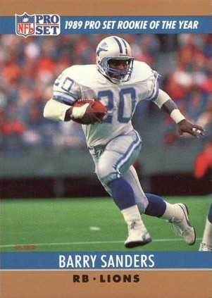 Top Barry Sanders Cards of All-Time 5