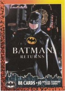 History of Batman Trading Cards 30