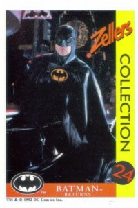 1992 Zeller's Batman Returns