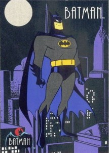 History of Batman Trading Cards 51