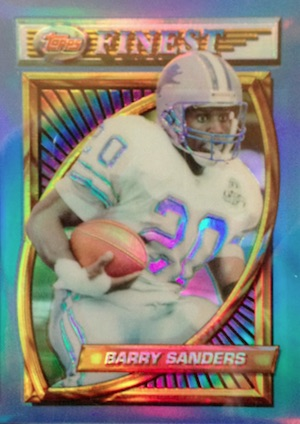 Top Barry Sanders Cards of All-Time 11