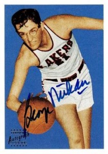1996 Topps Stars Reprint Autograph George Mikan #30