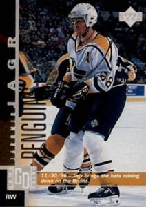 More Than Just a Pretty Mullet: Timeline of Upper Deck Jaromir Jagr Cards 15