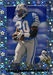 Top Barry Sanders Cards of All-Time 13