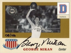By George! The Top 15 George Mikan Basketball Cards of All-Time 18
